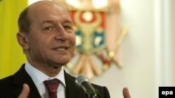 Traian Băsescu la Chişinău, 27 ianuarie 2010
