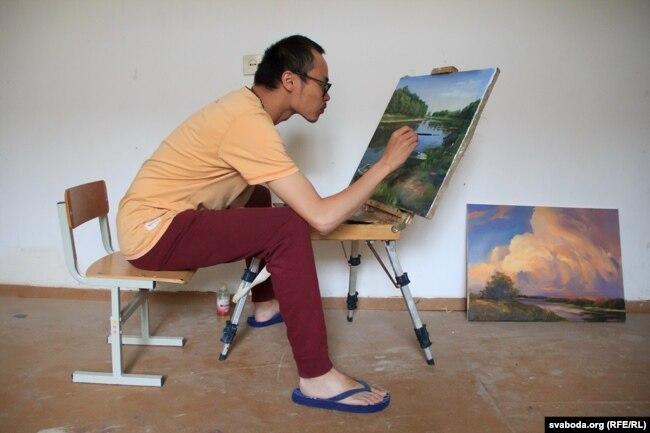 Мастак з Кітаю Чэнь Вэньхуа