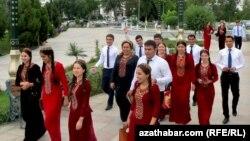 Студенты, Туркменистан