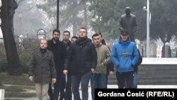 Predstavnici studentskih udruženja dolaze na sastanak sa Aleksandrom Vučićem u Predsedništvu Srbije u Beogradu