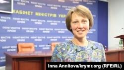 Советник Министра информационной политики по вопросам информационной политики по Крыму Юлия Каздобина