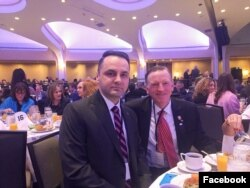Vasile Cristian Lungu și congresmanul republican Paul Gosar