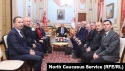 Руководители Федерации черкесских ассоциаций в Турции, 27 февраля