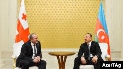 Վրաստանի և Ադրբեջանի նախագահների դեմ առ դեմ հանդիպումը Բաքվում: