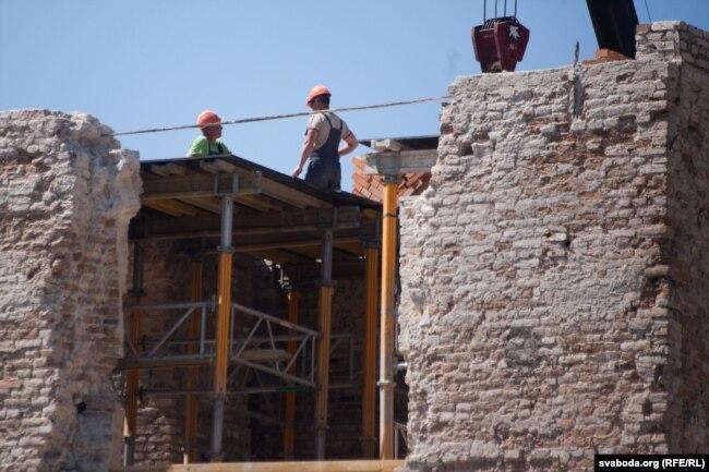 Реконструкция Старого замка в Гродно