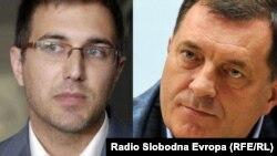 Ministar odbrane Srbije Nebojša Stefanović i predsjedavajući Predsjedništva Bosne i Hercegovine (BiH) Milorad Dodik