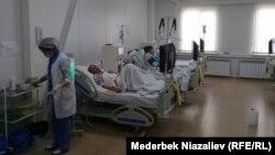 Пациенты в Оше получают гемодиализ. Архивное фото.