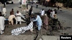 Місце вибуху у місті Кветта, 23 червня 2017 року