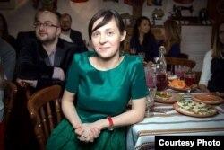 Кірыл Ільніцкі (зьлева) і Кацярына Кібальчыч — арганізатары тыдня беларускай кухні