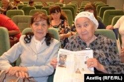 Актив ветеран укытучылар - Галия Сагитуллина, Рәисә Рахманова