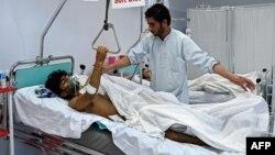 یکی از مجرحان حمله به بیمارستان پزشکان بدون مرز