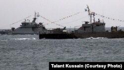 Qazaxıstan donanması.