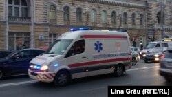 O ambulanță prin Chișinău