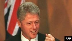 Presidenti Bill Klinton - Nëntor, 1996.