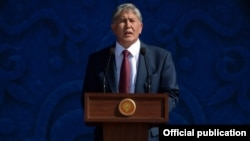 Алмазбек Атамбаев. 31 августа 2015 года.