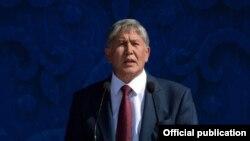 Kyrgyzstan-Bishkek, Atambaev, independence Day, 31Aug2015