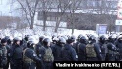 Киев, площадь Независимости, 19 февраля 2017
