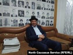 Мустафа Аушев, отец Илеза