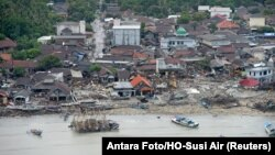 Pandeglang kenary, Indoneziýanyň Banten regiony, 24-nji dekabry, 2018