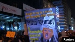 La protestele din Statele Unite împotriva lui Donald Trump