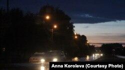 Интернациональный проспект ночью