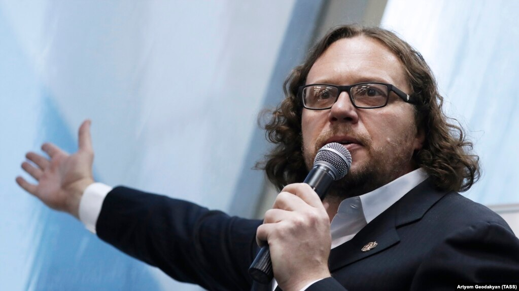 Сергей Полонский на пресс-конференции в Москве, 14 ноября 2017