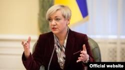 Голова правління Нацбанку України Валерія Гонтарєва