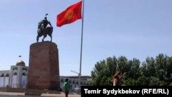 Бишкек шаарынын борбордук аянты.