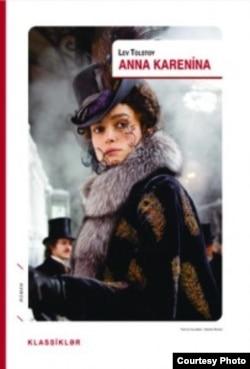 """L. Tolstoyun """"Anna Karenina"""" romanı azərbaycanca."""