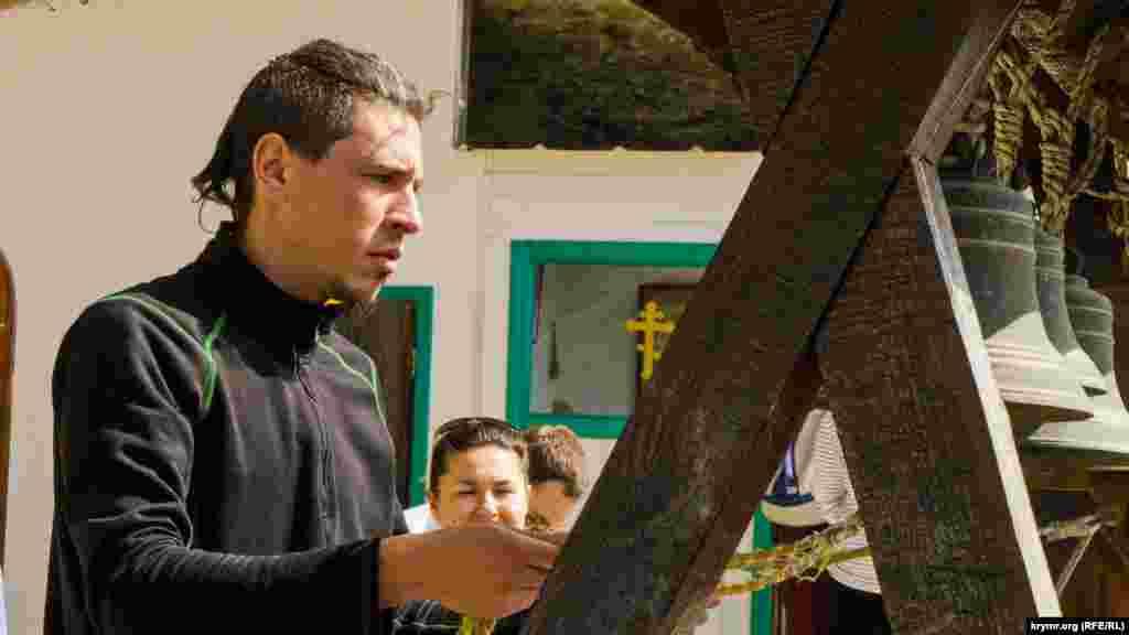 Руслан –послушник монастиря