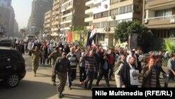 القاهرة: تظاهرة لجماعة الاخوان