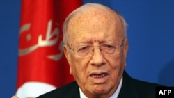 Tunisian Prime Minister Caid Essebsi