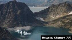 Pamje nga Grenlanda.