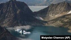 Природа острова Гренландия.