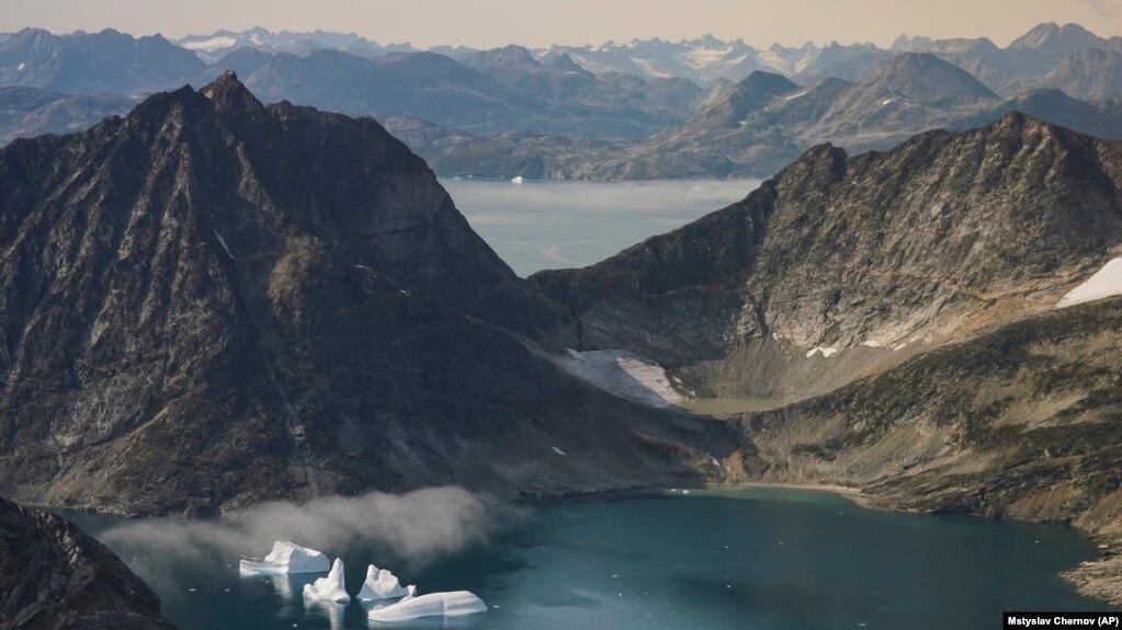 Пейзаж восточной Гренландии