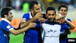 امید ابراهیمی گل برتری استقلال را مقابل سپاهان به ثمر رساند.