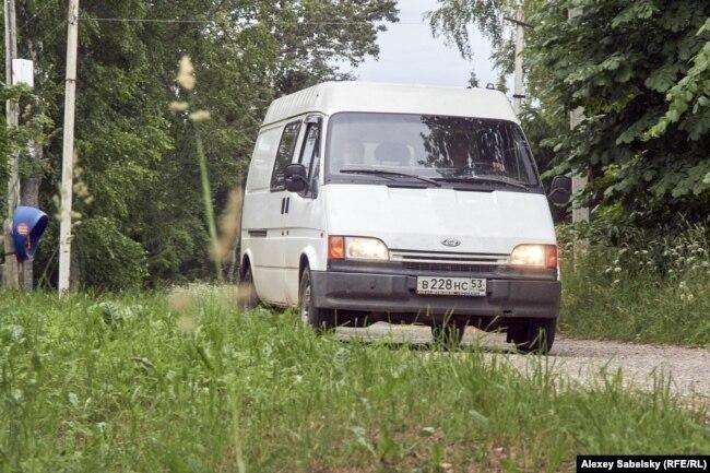 Автолавка в дороге