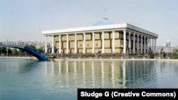 Uzbekistan's Oliy Majlis building (file photo)