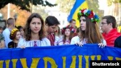 «Вишиванковий флеш-моб» в Одесі. Вересень 2015 року. Ілюстраційне фото