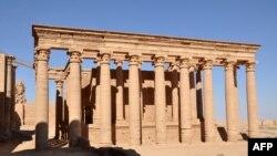 Templul elenist de la Hatra, la o sută de kilometri sud-vest de Mosul, în Irak
