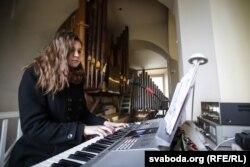 Арганістка Марыя Карповіч — беларуская студэнтка ў Вільні
