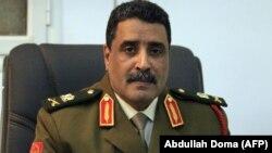 احمد مسماری سخنگوی نیروهای وفادار به ژنرال خلیفه حفتر