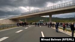 Protesti branitelja graničnom prijelazu Bijača