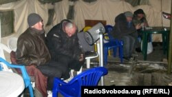 Украина: Үйсүздөр үчүн ачылган чатыр