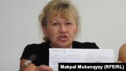 Юрист Татьяна Хлопотенко. Алматы, 6 августа 2013 года.
