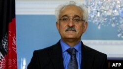 Afghan national security adviser Rangin Dadfar Spanta (file photo)
