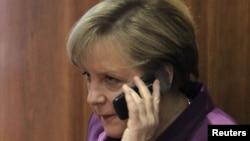 Ангела Меркель - Германия канцлері.