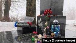 На місці загибелі Скрябіна влаштували автопробіг, Дніпропетровська область, 2 лютого 2019 року
