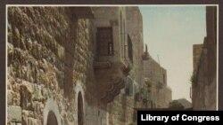Вифлеем, старый город. Фотография 1919 года