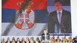 Aleksandar Vučić u Severnoj Mitrovici